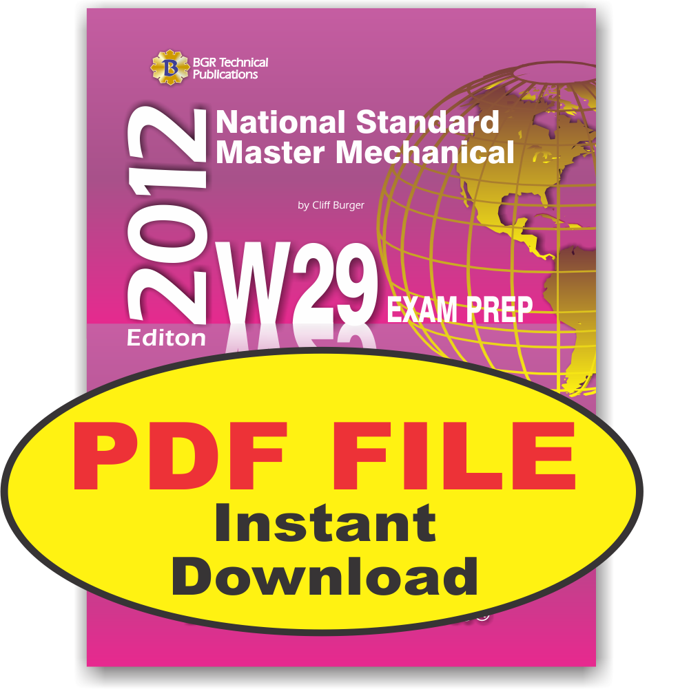 W29 National Standard Master Mechanical Questions Workbook PDF ...