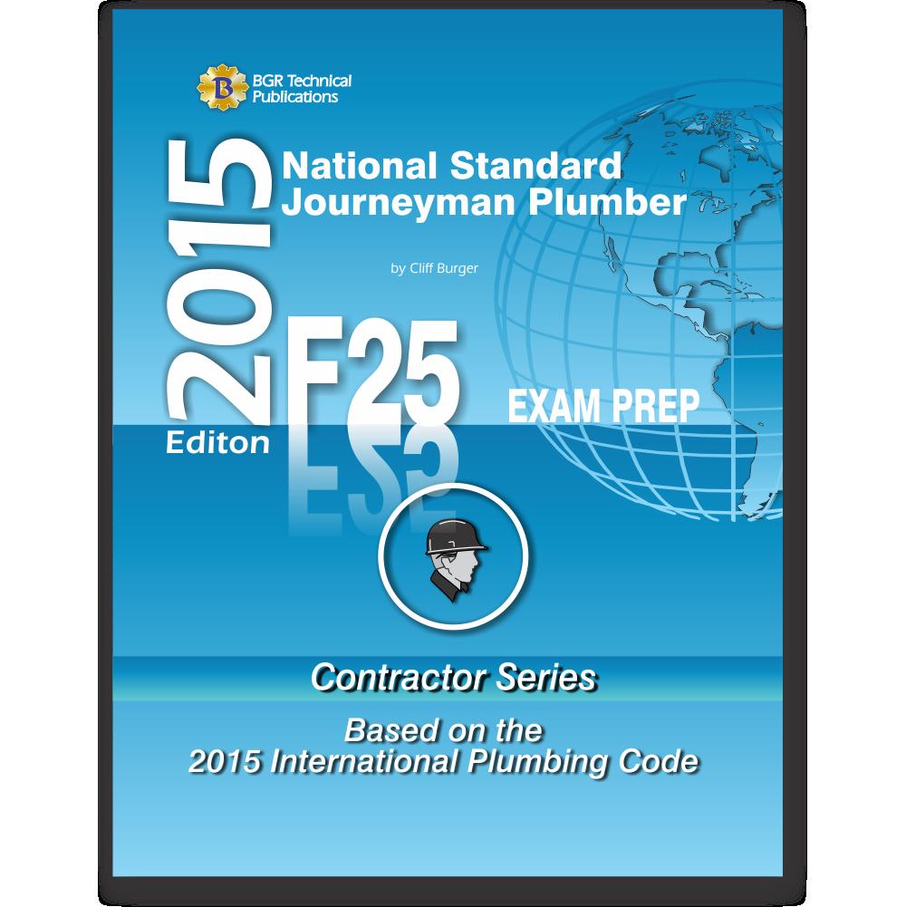 F25 National Standard Journeyman Plumber Practice Questions Work